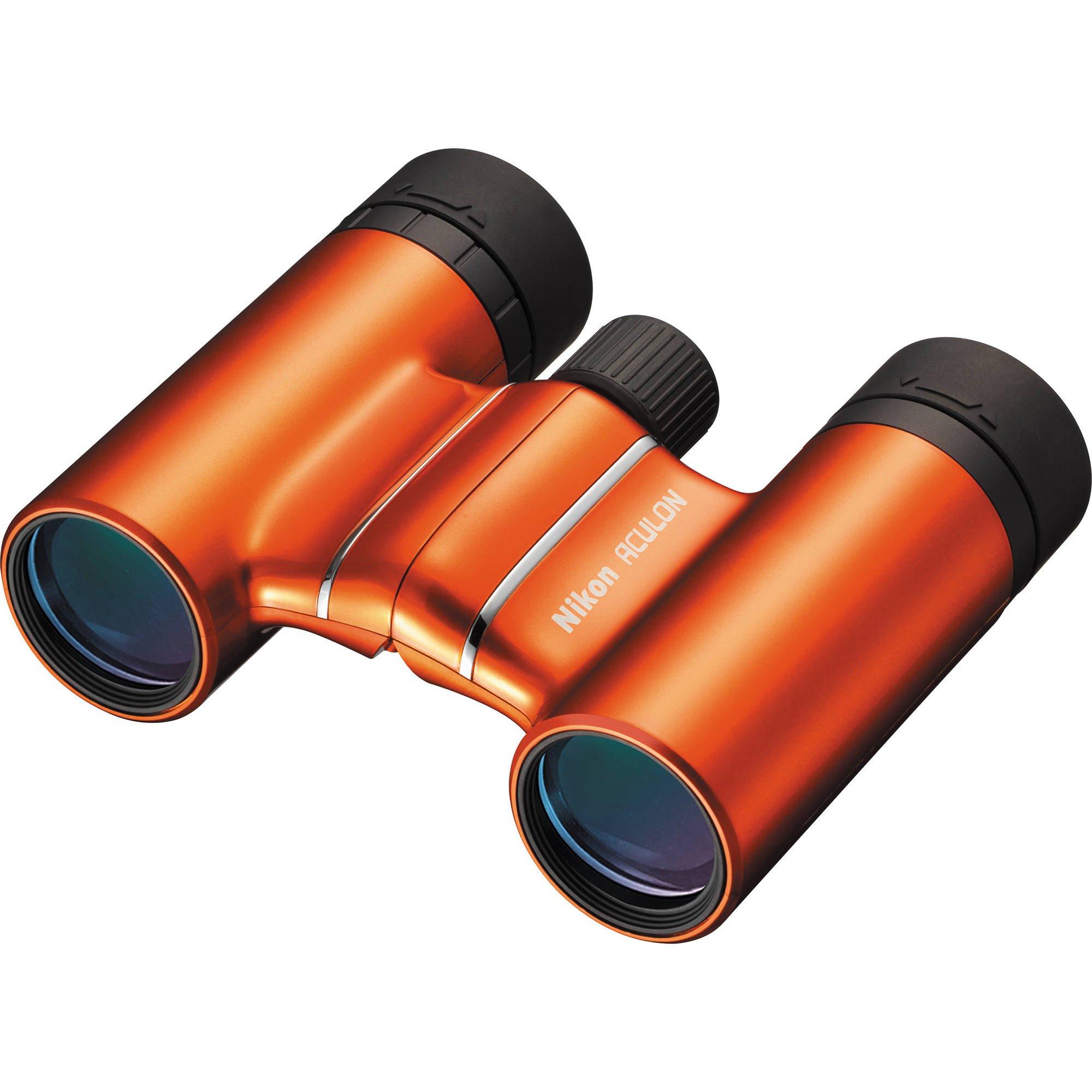 NIKON 8x21 ACULON T01 ORANGE - dalekohled