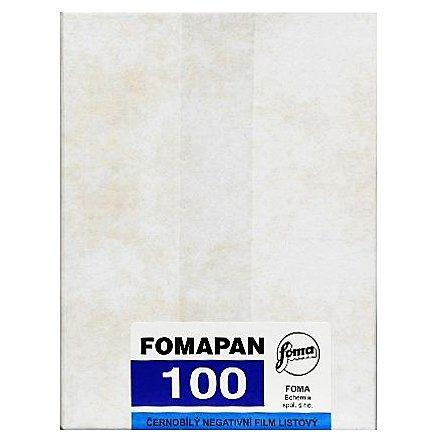 FOMAPAN 100 12x16,5 cm/50 ks