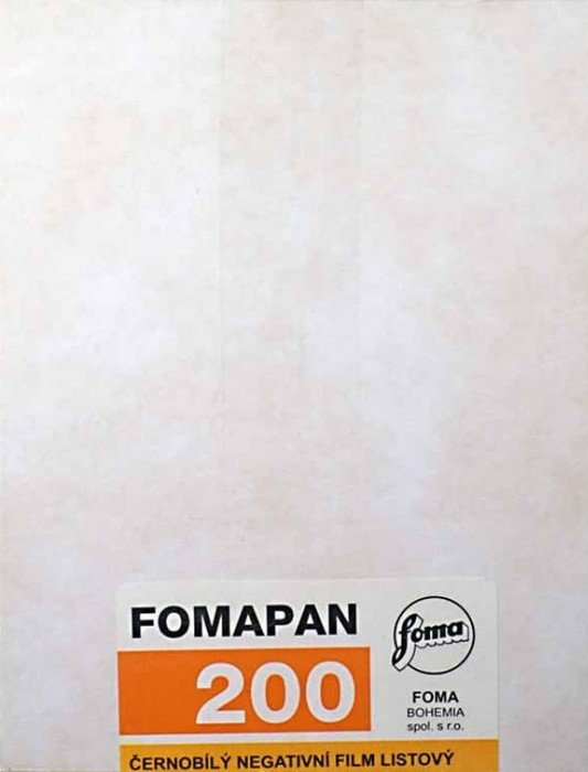 "FOMAPAN 200 12,7x17,78 cm (5x7"")/50 ks"