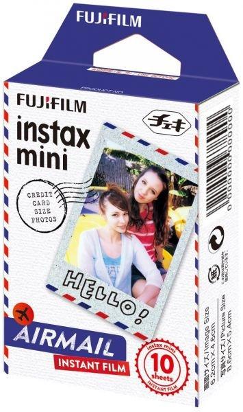 FUJIFILM INSTAX COLORFILM MINI GLOSSY AIRMAIL WW