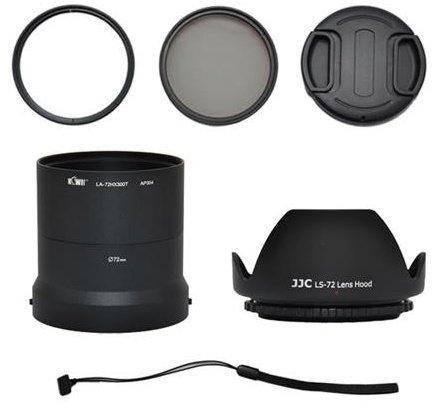 KIWI adaptérový kit HX300K 72 mm pro Sony DSC-HX300
