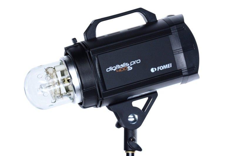 FOMEI Digitalis PRO S400 - studiový blesk 400Ws/300W