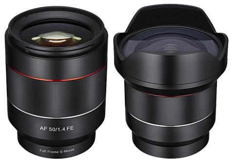SAMYANG 50 mm f/1,4 AF FE pro Sony E