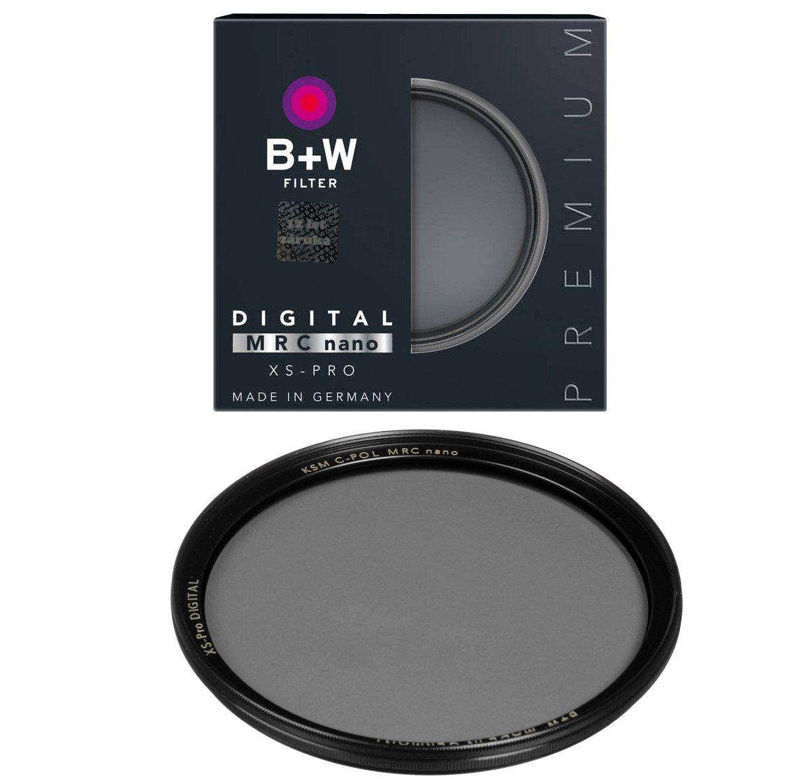 B+W filtr Polarizační cirkulární KSM XS-Pro HTC Digital MRC nano 55 mm
