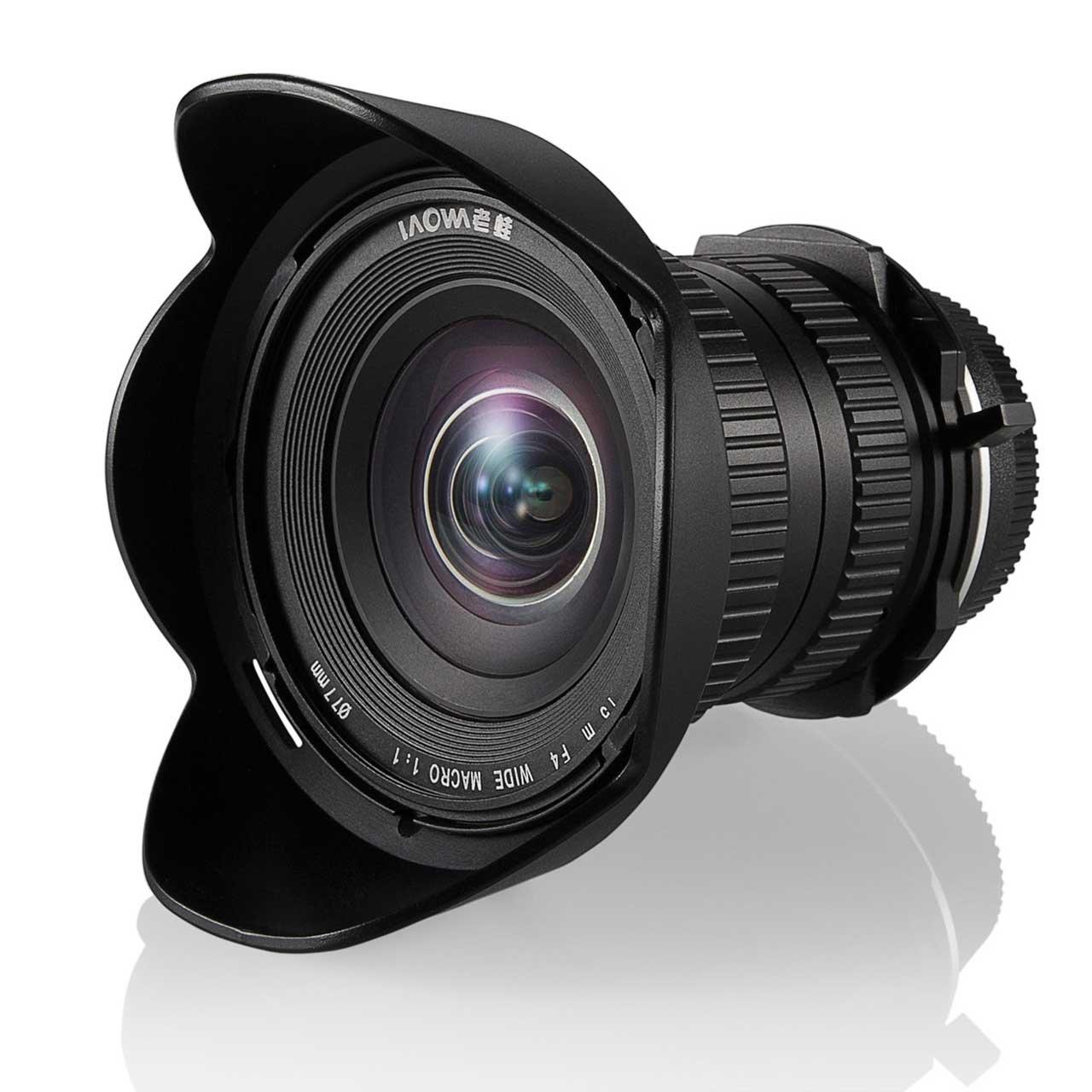LAOWA 15 mm f/4 Macro Shift pro Sony E