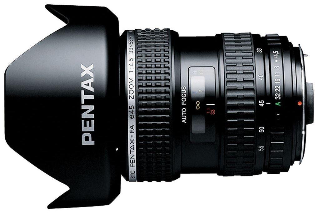 PENTAX 645 33-55 mm f/4,5 FA AL