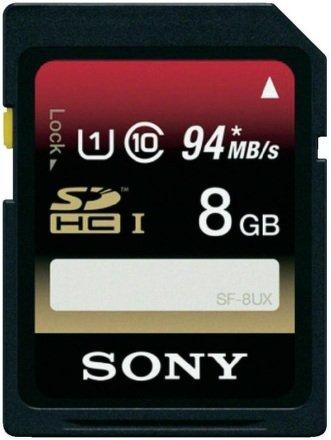 SONY SDHC 8GB UHS-I 94MB/s AKCE