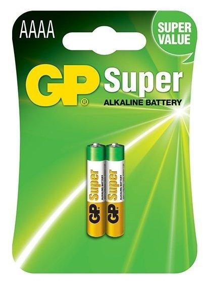 GP AAAA alkalická baterie 2ks