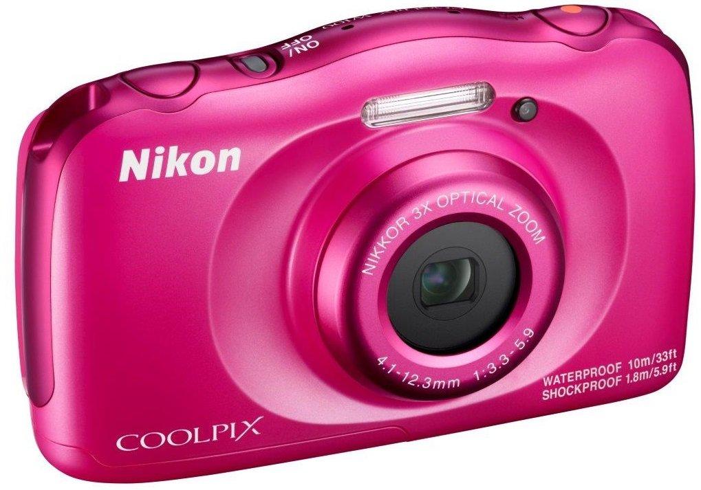 NIKON COOLPIX W100 růžový - backpack kit
