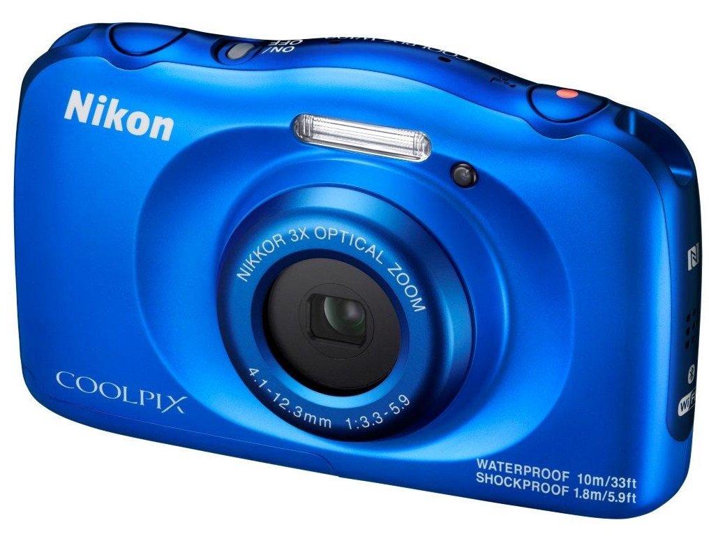 NIKON COOLPIX W100 modrý - backpack kit