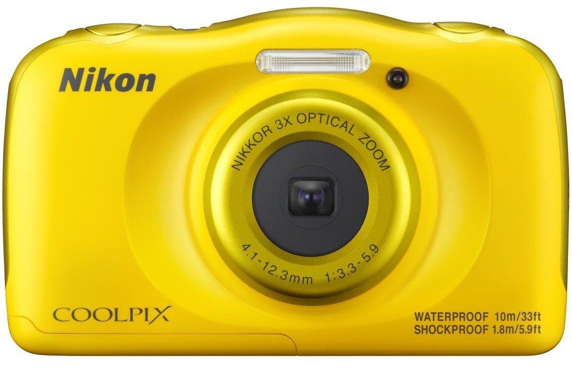 NIKON COOLPIX W100 žlutý - backpack kit