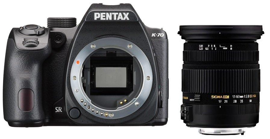 PENTAX K-70 + SIGMA 17-50/2,8