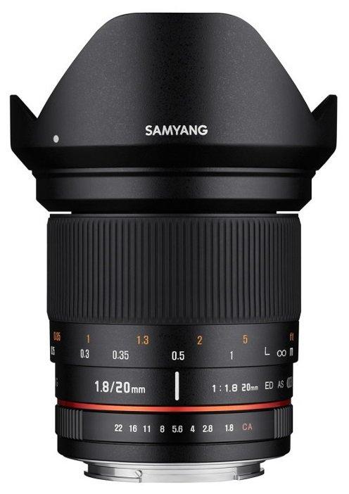 SAMYANG 20 mm f/1,8 ED AS UMC pro Canon