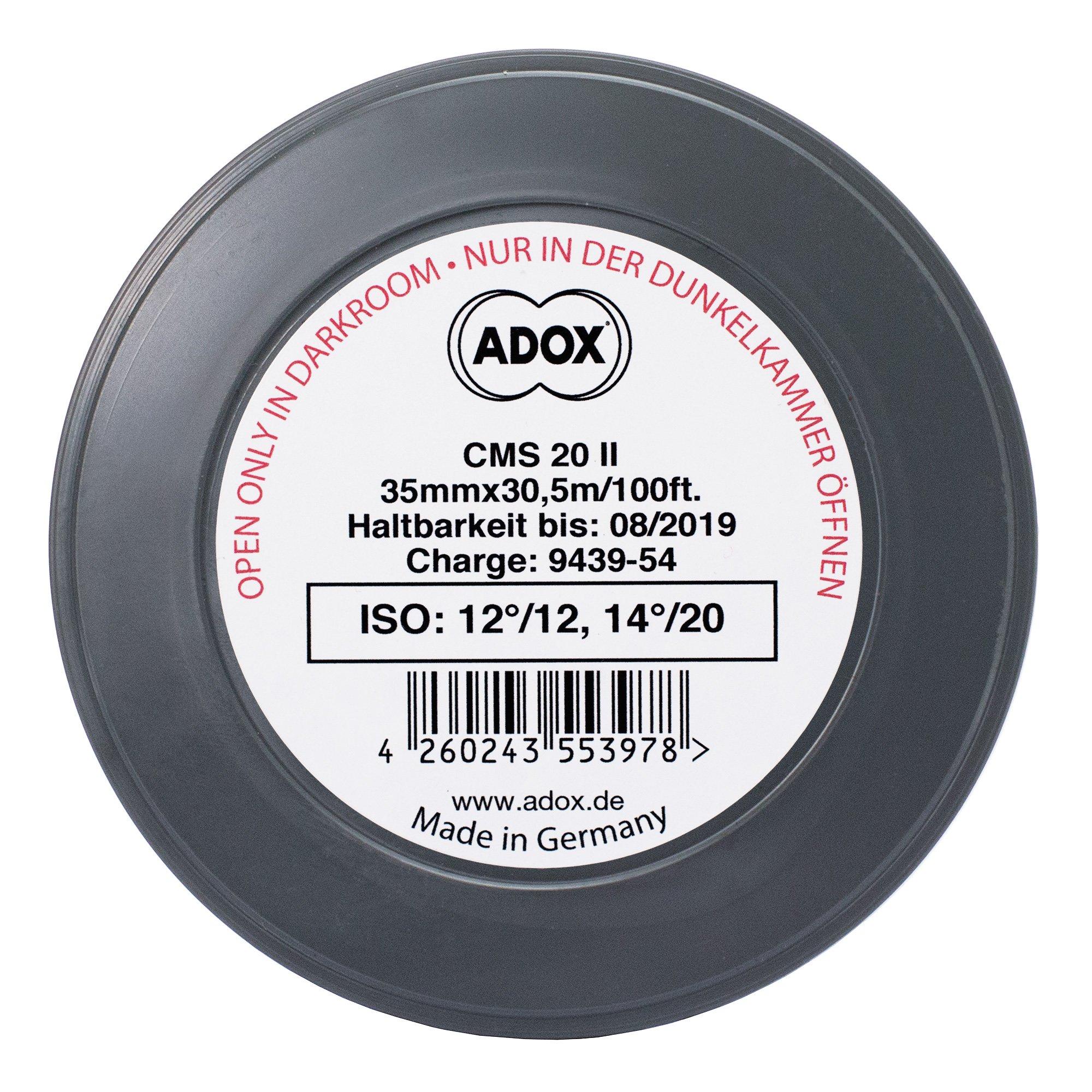 ADOX CMS 20 II/metráž 30,5 m