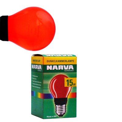 PHOTOLAMP FISCHER červená žárovka 230V 15W E27