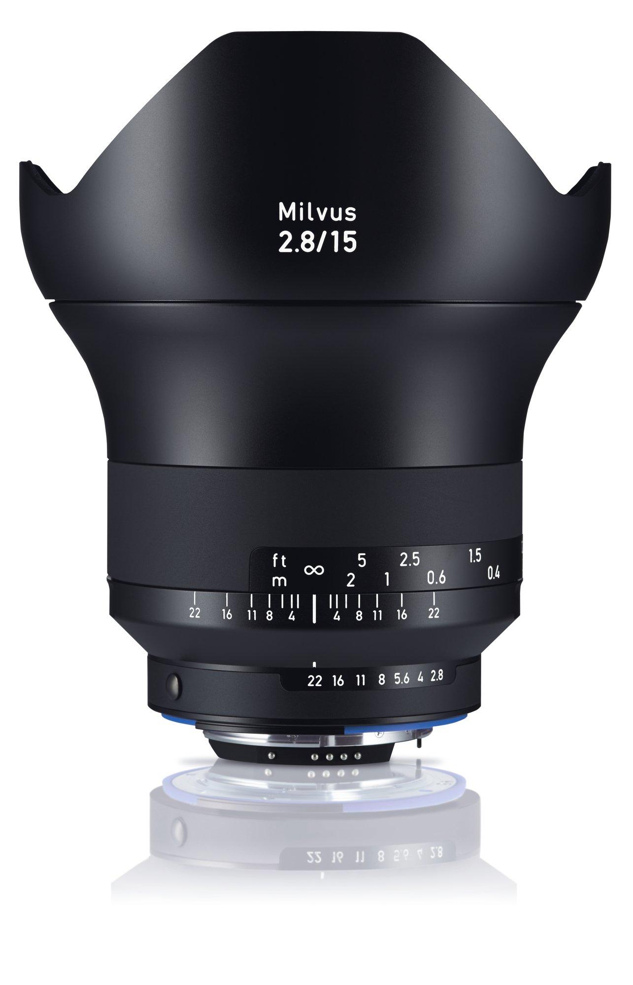 ZEISS Milvus 15 mm f/2,8 Distagon T* ZF.2 pro Nikon