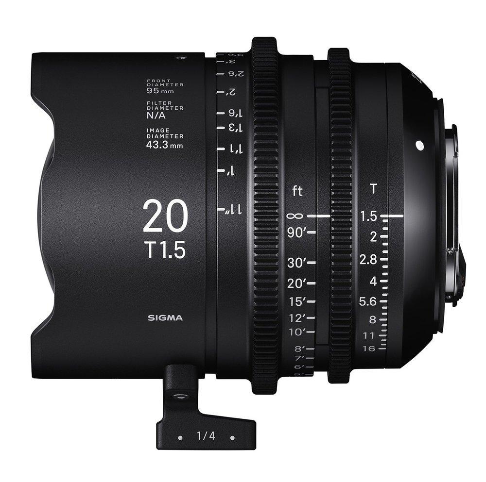 SIGMA 20 mm T1,5 FF PL-mount
