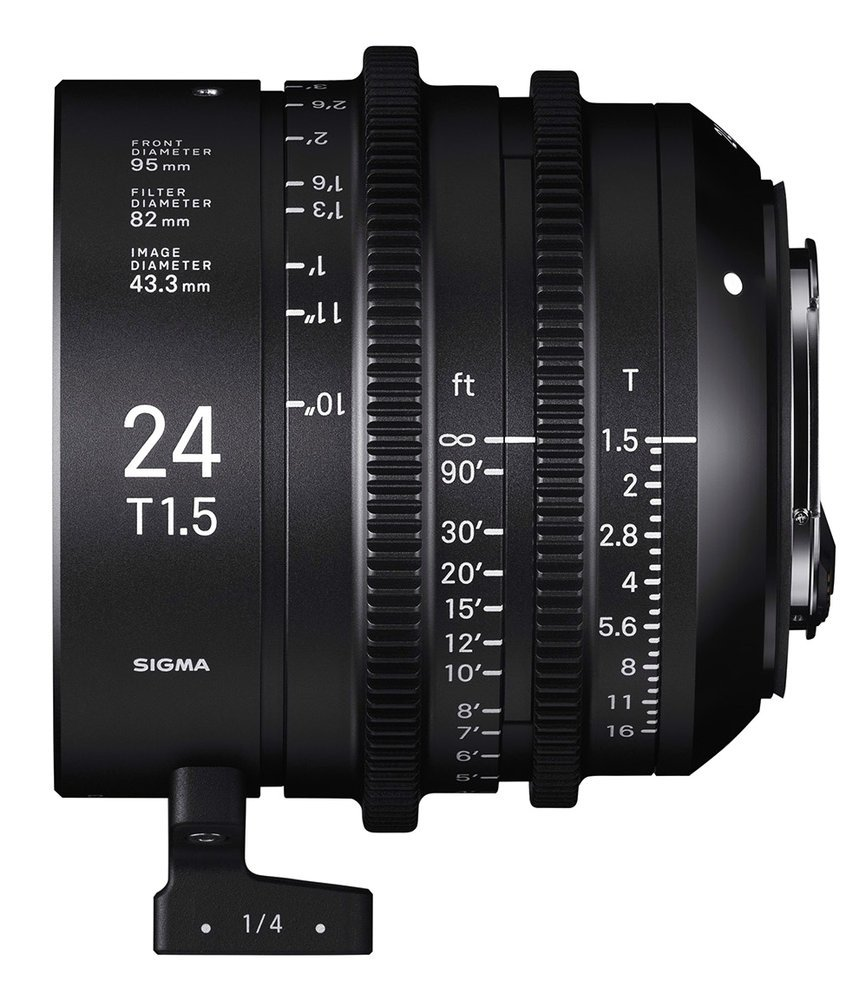 SIGMA 24 mm T1,5 FF EF-mount