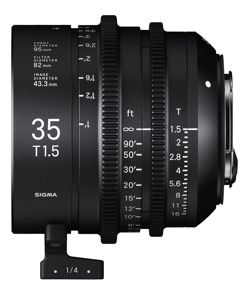 SIGMA 35 mm T1,5 FF PL-mount