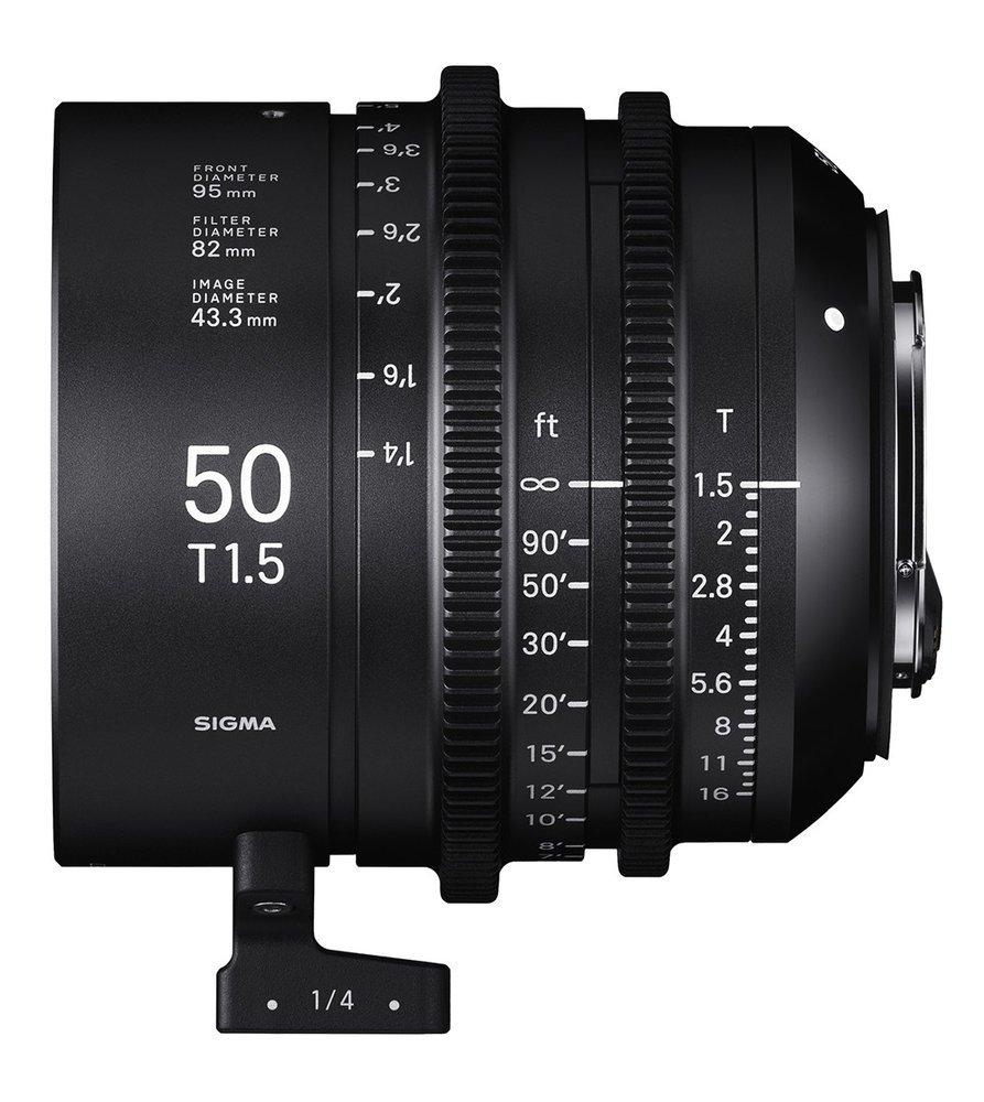 SIGMA 50 mmT1,5 FF E-mount