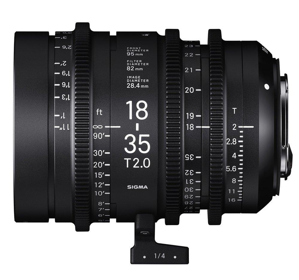 SIGMA 18-35 mm T2 PL-mount