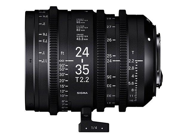 SIGMA 24-35 mm T2,2 FF EF-mount