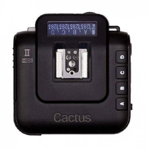 CACTUS V6 II rádiový vysílač/přijímač blesku pro Nikon, Canon, Pentax, Olympus