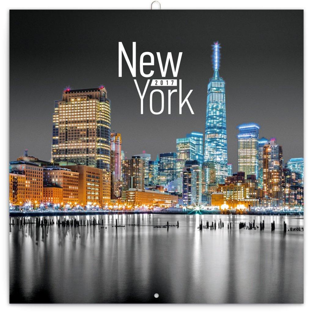 KALENDÁŘ 2017 - NEW YORK Jakub Kasl, 30x30cm