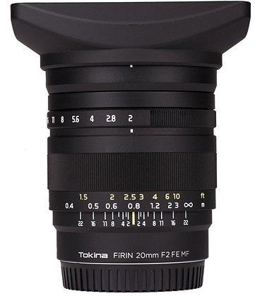 TOKINA 20 mm f/2 FíRIN FE MF pro Sony E