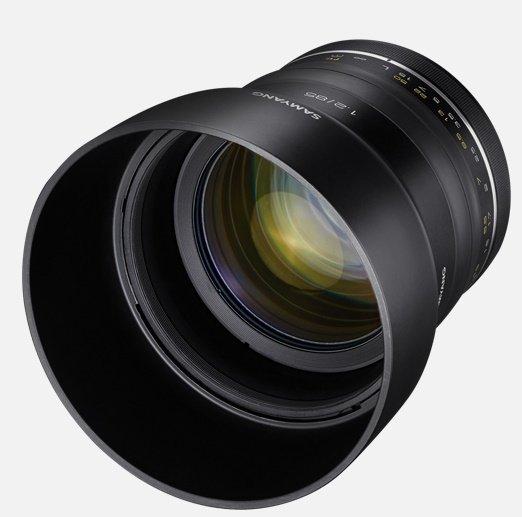 SAMYANG 85 mm f/1,2 XP UMC pro Canon