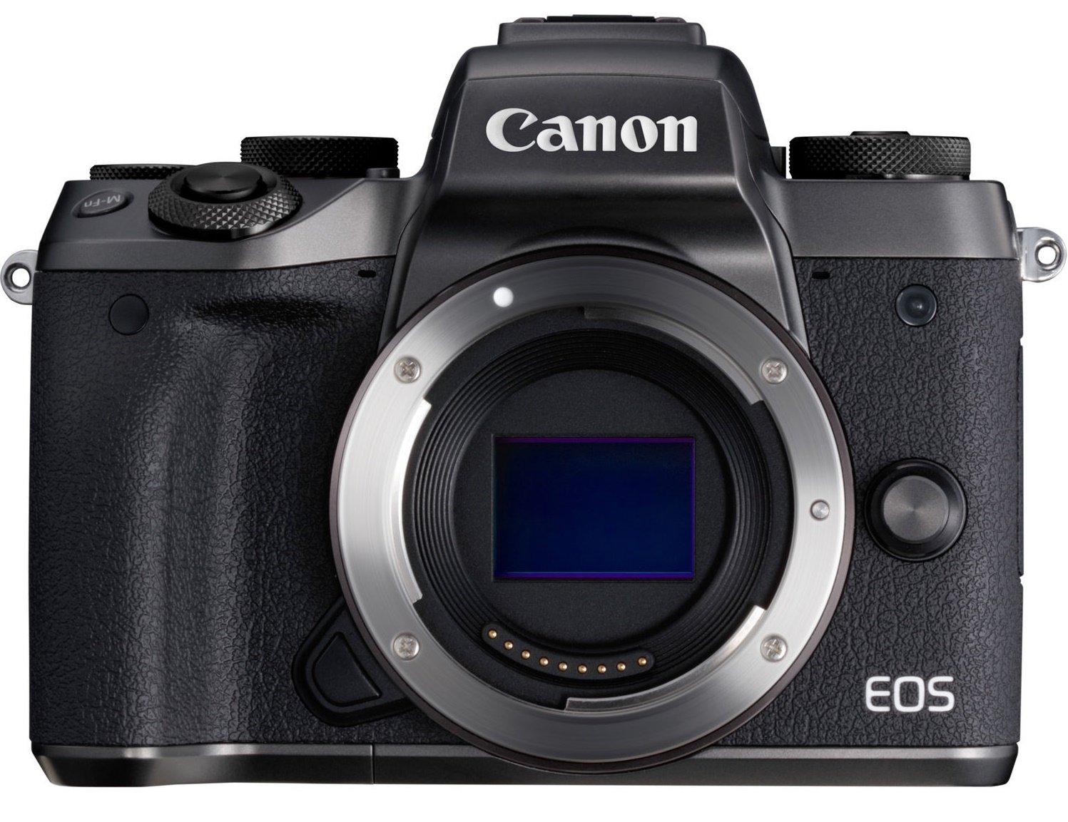 CANON EOS M5 černý + adaptér EF-EOS M