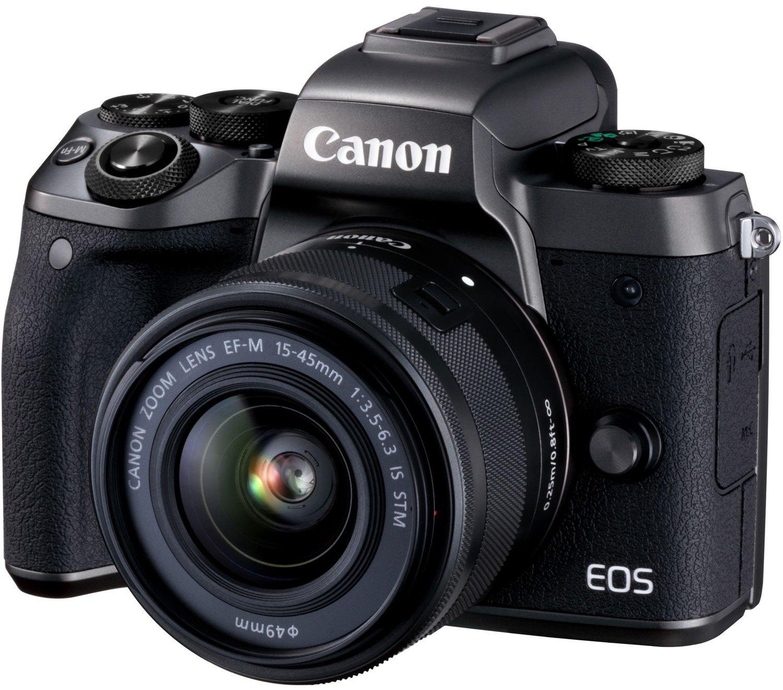CANON EOS M5 + 15-45 mm + adaptér EF-EOS M