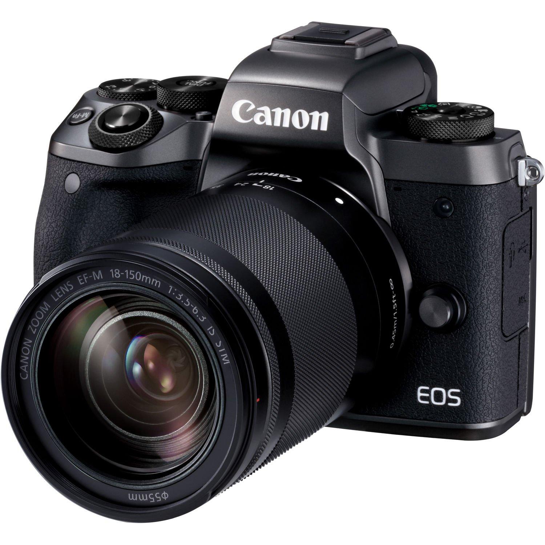 CANON EOS M5 + 18-150 IS mm + adaptér EF-EOS M