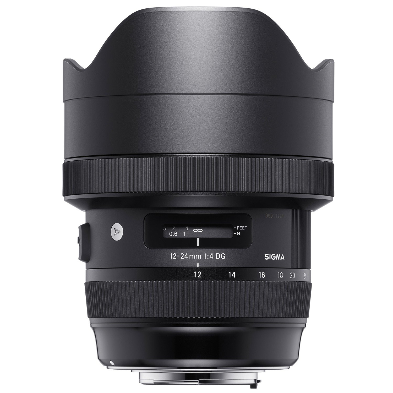 SIGMA 12-24 mm f/4 DG HSM Art pro Canon