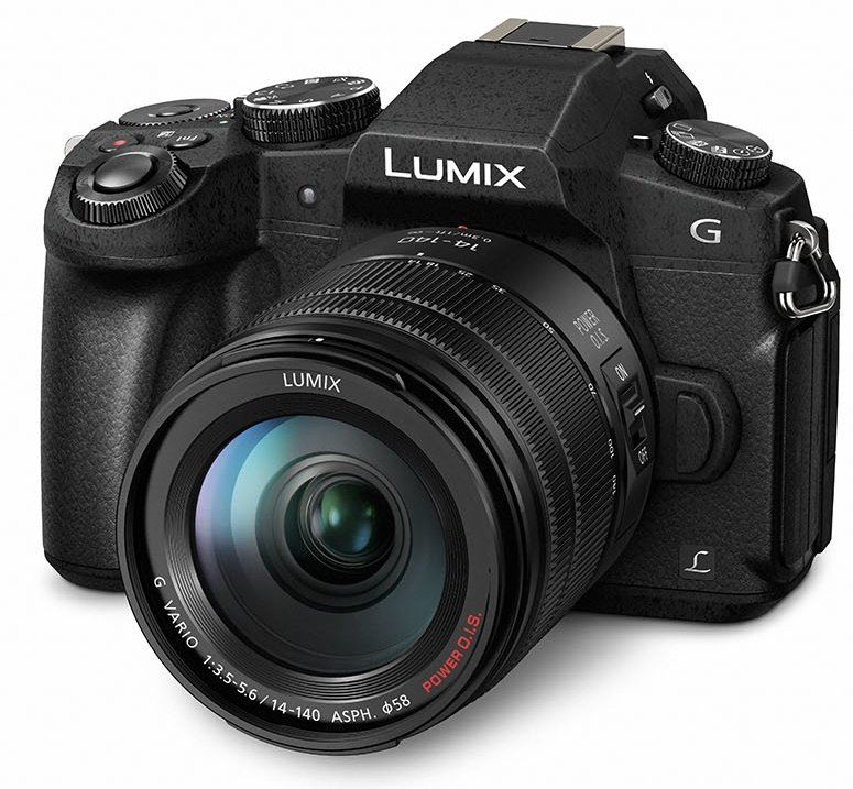 PANASONIC Lumix DMC-G80 + 14-140 mm černý