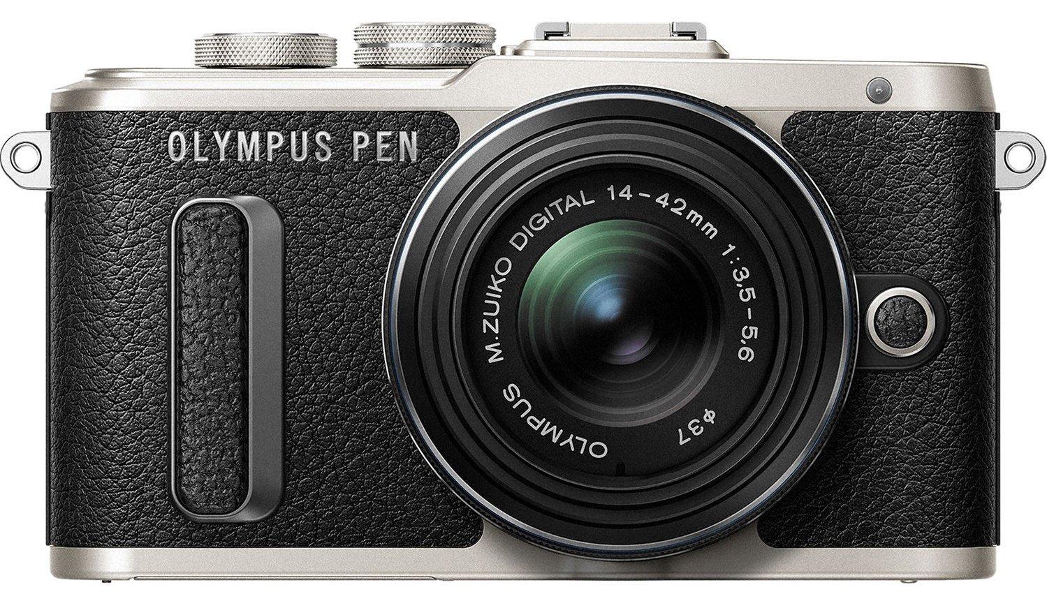 OLYMPUS E-PL8 černý + 14-42 mm EZ černý