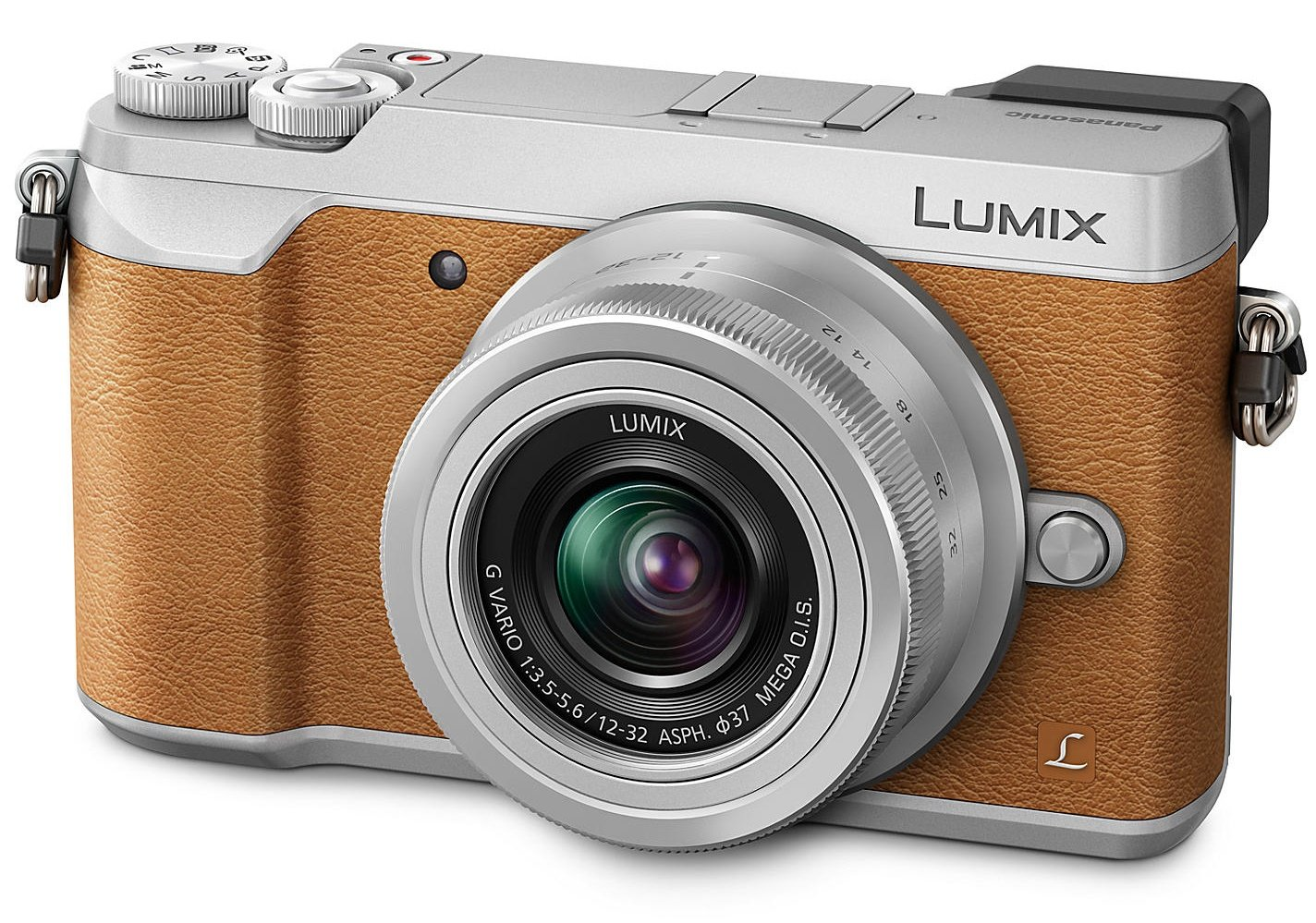 PANASONIC Lumix DMC-GX80 + 12-32mm hnědý + SDHC 16GB