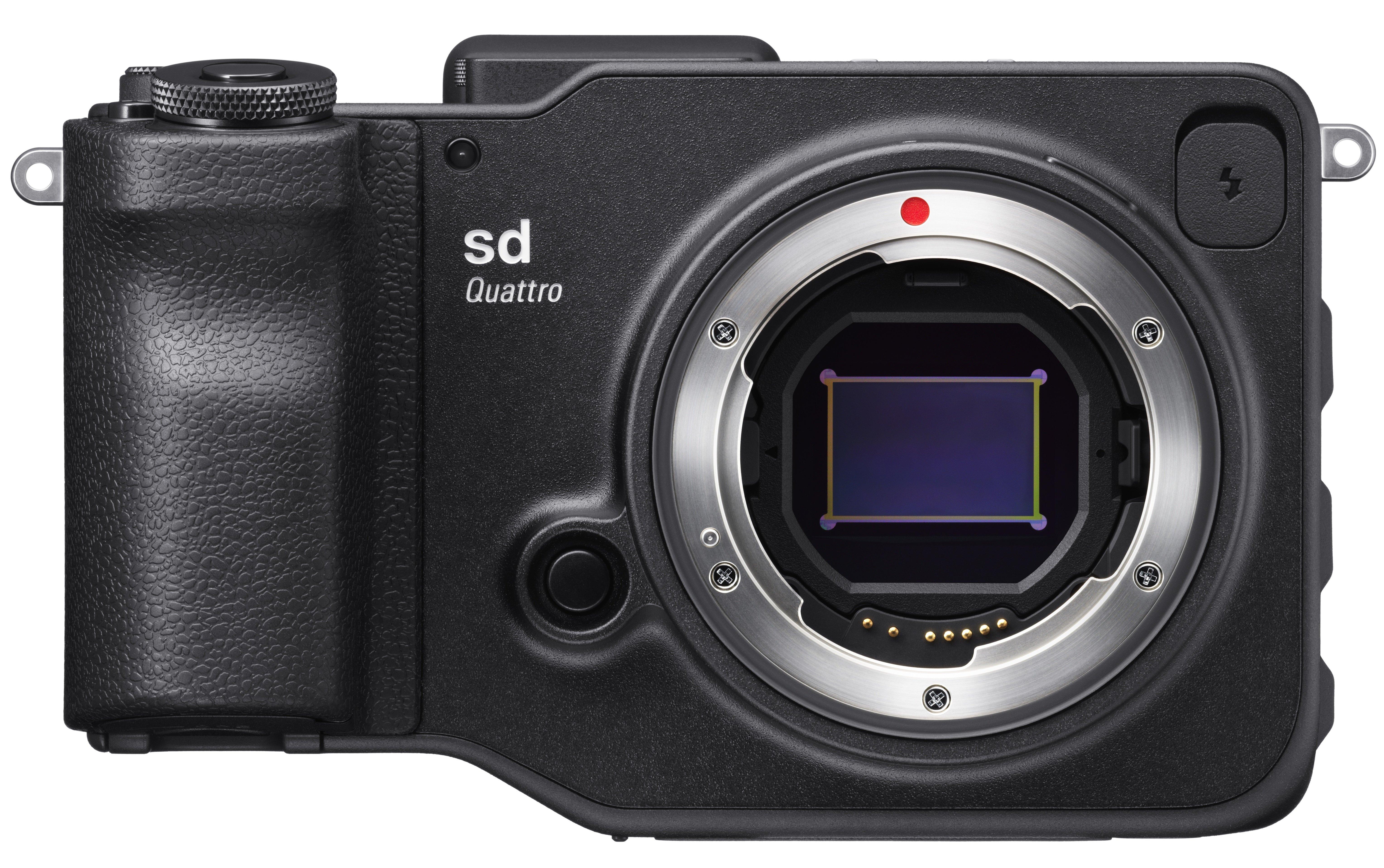 SIGMA SD Quattro - tělo