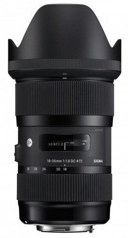 SIGMA 18-35 mm f/1,8 DC HSM Art pro Sigmu