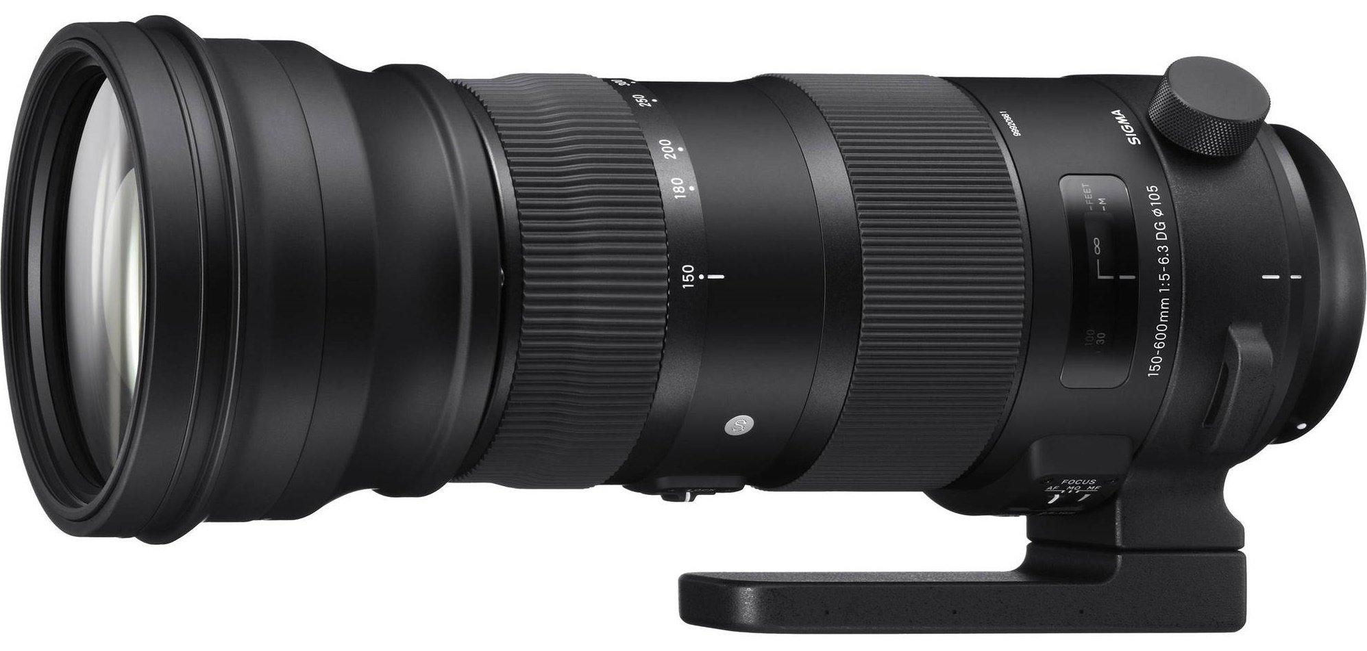 SIGMA 150-600 mm f/5-6,3 DG OS HSM Sports pro Sigma SA