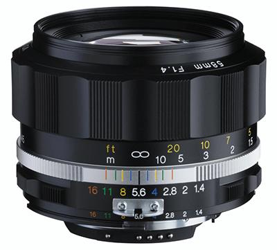 VOIGTLÄNDER 58 mm f/1,4 MF Nokton SL II-S pro Nikon černý