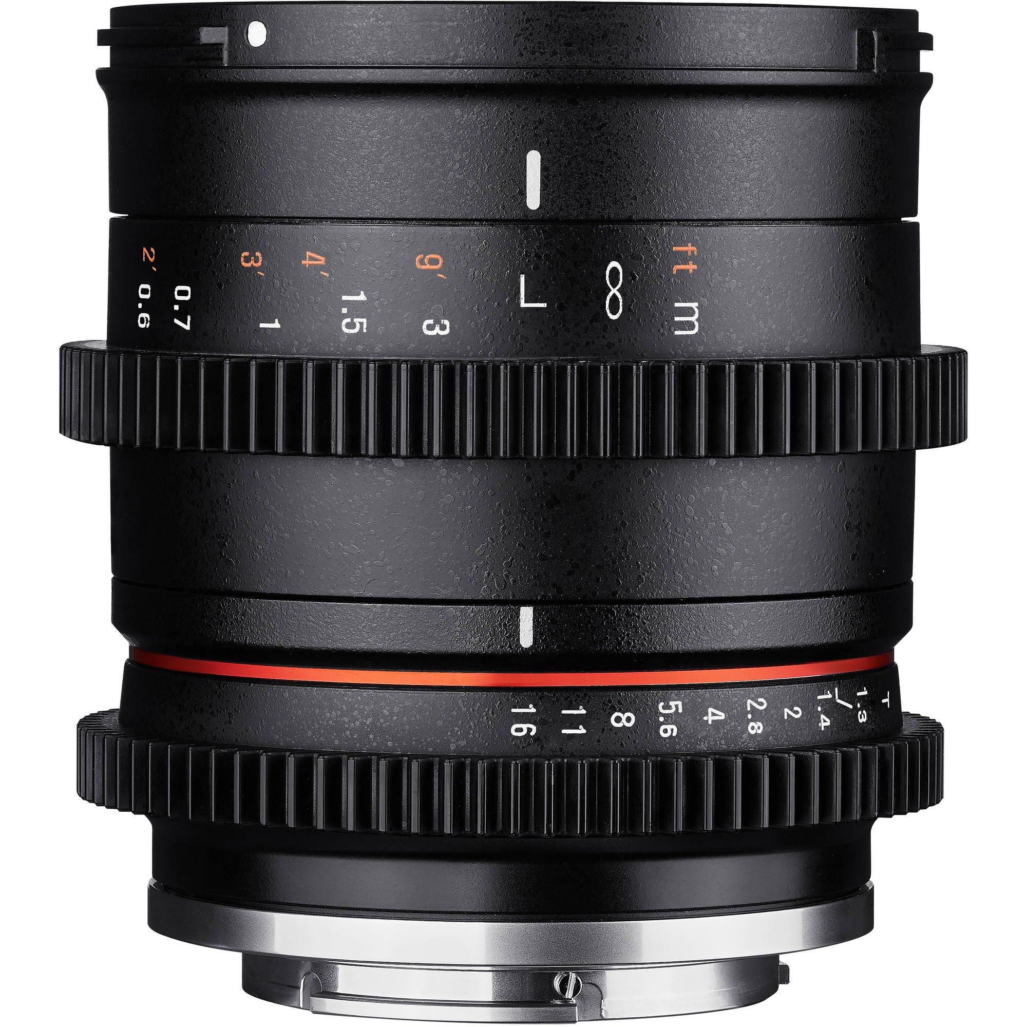 SAMYANG 35 mm T1,3 AS UMC CS pro Canon EOS M