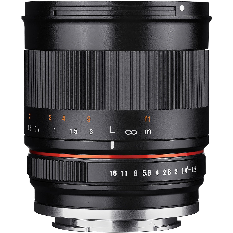 SAMYANG 35 mm f/1,2 ED AS UMC CS pro Canon EF-M