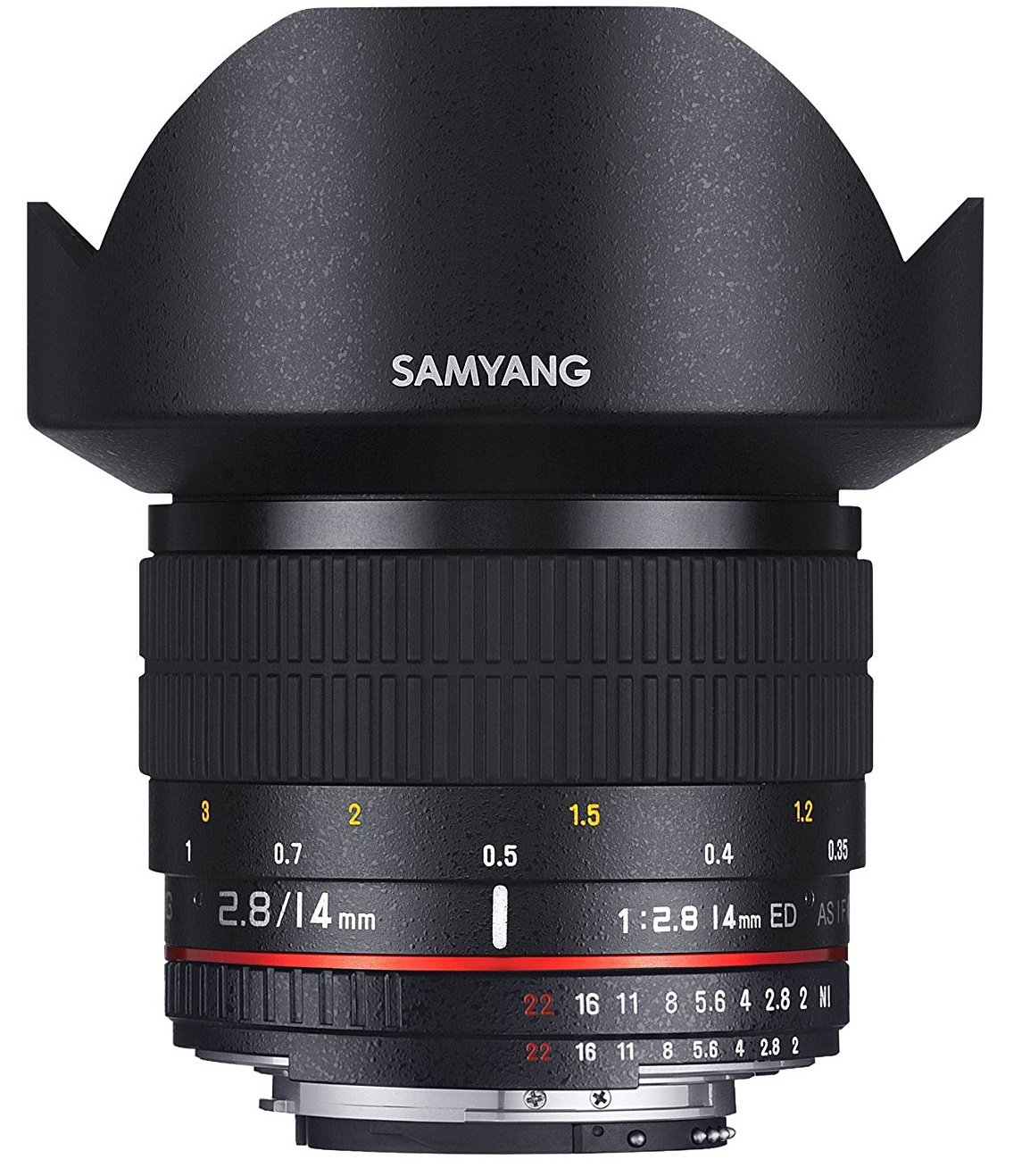 SAMYANG 14 mm f/2,8 ED AS IF UMC pro Canon AE
