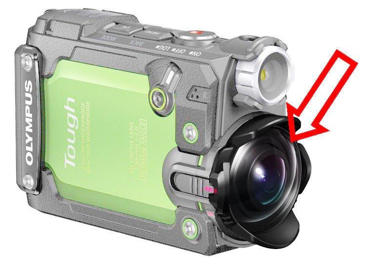 OLYMPUS TG-Tracker Lens Protector