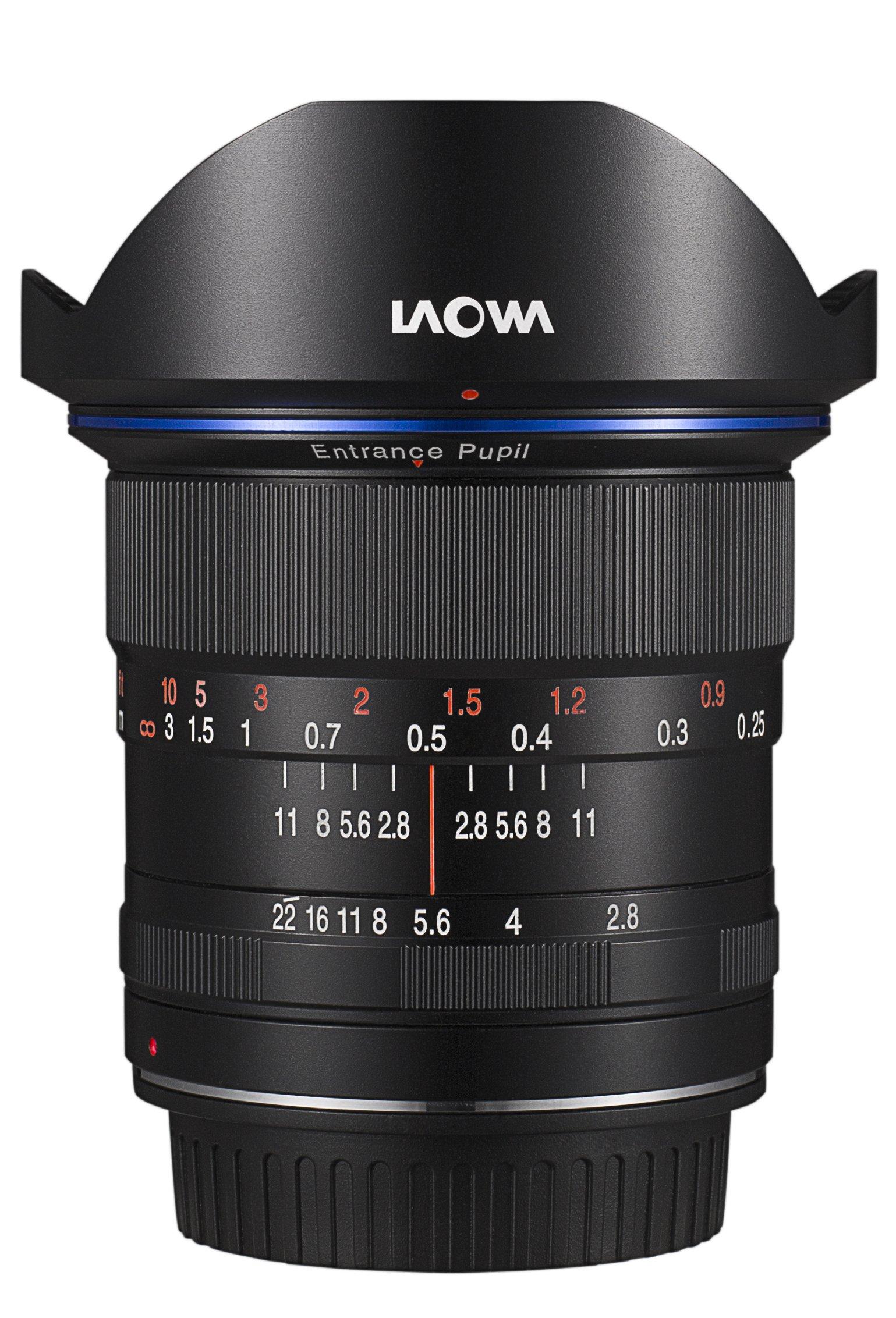 LAOWA 12 mm f/2,8 Zero-D pro Canon