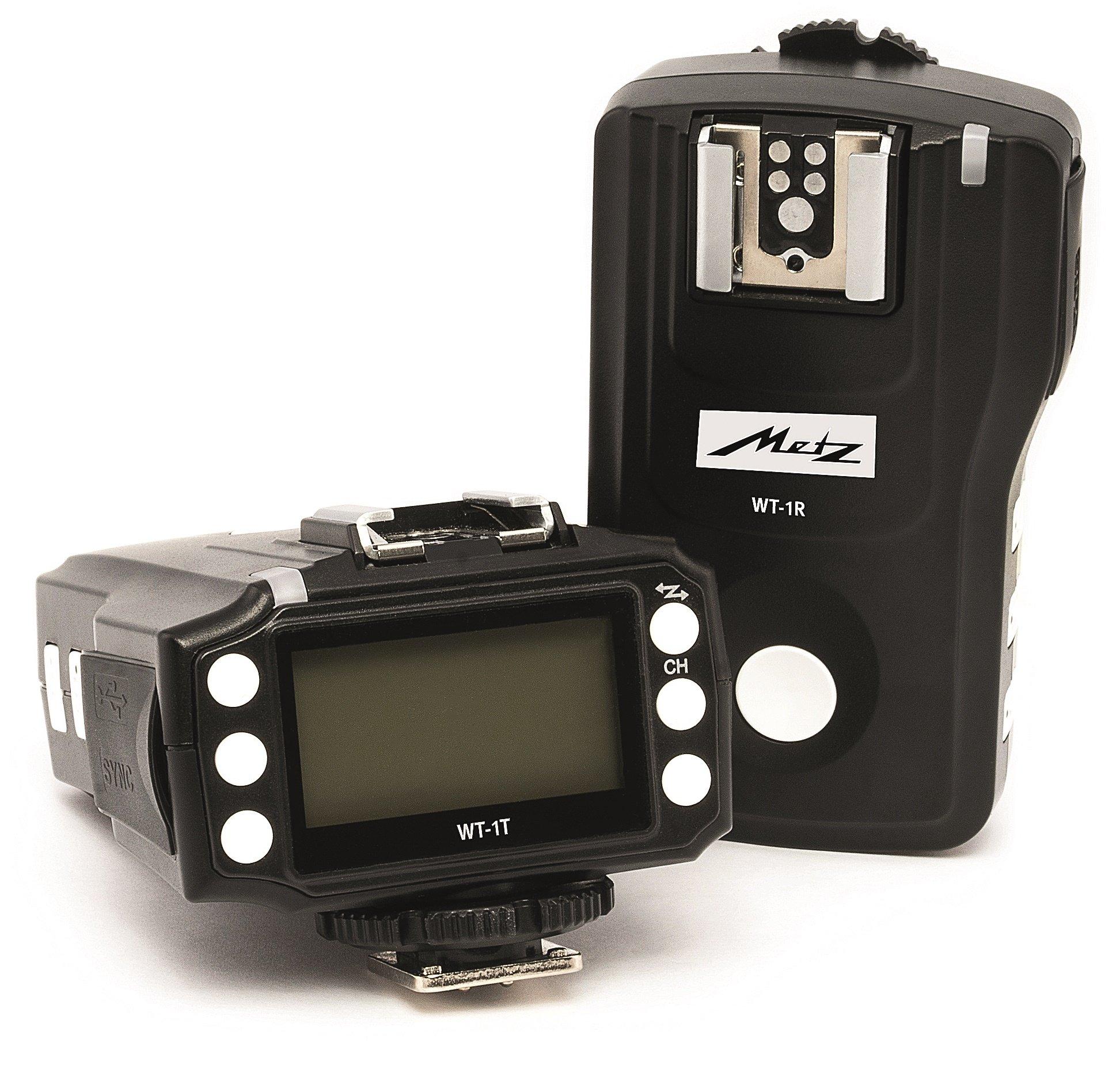 METZ WT-1 KIT rádiový odpalovač/přijímač blesku pro Canon E-TTL (set 1+1)