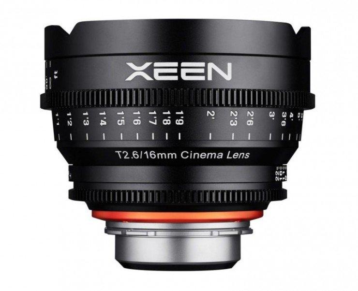 XEEN 16 mm T2,6 Cine pro Nikon F