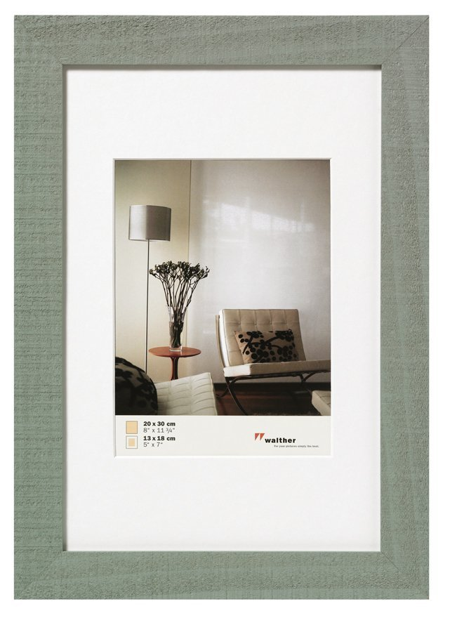 WALTHER HOME 13x18 , dřevo, šedá