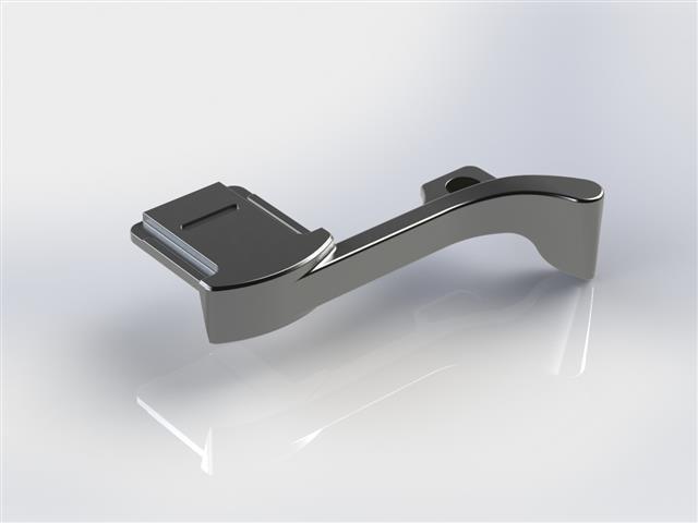 THUMBS UP! EP-2T grip do sáněk pro Fujifilm X100T stříbrný
